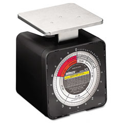 Pelouze PELK5 Radial Dial Mechanical Package Scale, 5lb Capacity, 4-1/4 x 3-3/4 Platform