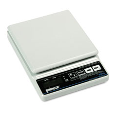 Pelouze PELPE10 Straight Weigh Electronic Postal Scale, 10lb Capacity, 5-7/8 x 5-7/8 Platform