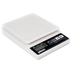 Pelouze PELPE5 Straight Weigh Electronic Postal Scale, 5lb Capacity, 5-7/8 x 5-7/8 Platform