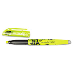 Pilot 46502 Frixion Lite Erasable Highlighter, Yellow Ink, Chisel