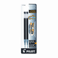Pilot - refill for g2 gel, dr. grip gel/ltd, execugel g6, q7, fine tip, black, 2/pack, sold as 1 pk