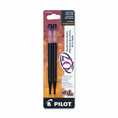 Pilot 77245 Refill For Q7 Retractable Gel Roller Ball Pen, Fine, Black Ink