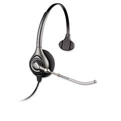 Plantronics - supraplus monaural over-the-head wideband headset, sold as 1 ea