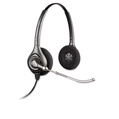 Plantronics - supraplus binaural over-the-head wideband headset, sold as 1 ea