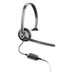 Plantronics - m214c over-the-head mobile/cordless phone headset w/noise canceling mic, sold as 1 ea