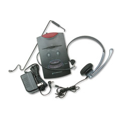 Plantronics - s11 system over-the-head telephone headset w/noise canceling microphone, sold as 1 ea