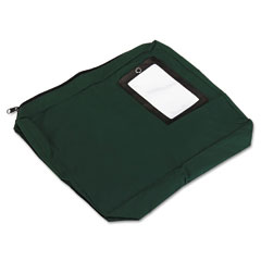 Accufax 04646 Expandable Dark Green Transit Sack, 14W X 11H X 3D