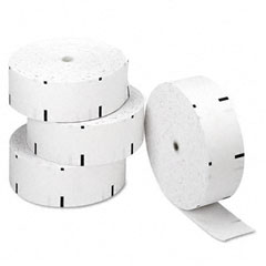 "Accufax 06507 Thermal Paper Rolls, Atm Rolls, 3-1/8"" X 1,960 Ft, White, 4/Carton"
