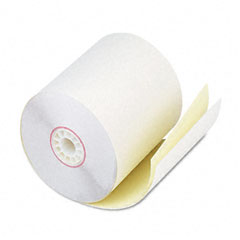 "Accufax 08789 Two-Ply Receipt Rolls, 2-3/4"" X 90 Ft, White/Canary, 50/Carton"