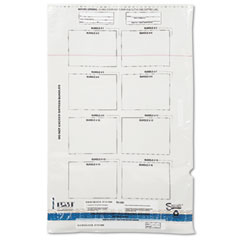 Accufax 58033 Clear Currency Bundle Bag, Holds 16 Bundles, 20 X 29-3/4, 100 Bags/Carton