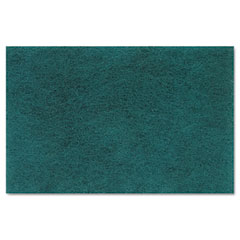 Lagasse 196 Medium Duty Scour Pad, Green, 6 X 9, 20/Carton