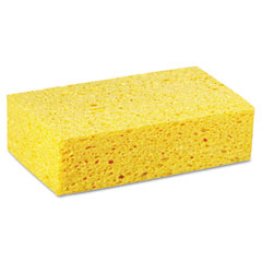Lagasse CS3 Large Cellulose Sponge, 4.27 X 7.8, Yellow, 24/Carton