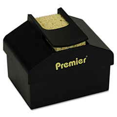 Premier - aquapad envelope moisture dispenser, 3 3/4-inch x 3 3/4-inch x 2 1/4-inch, black, sold as 1 ea