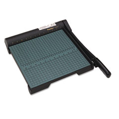 "Premier Martin Yale W12 The Original Green Paper Trimmer, 20 Sheets, Wood Base, 13"" X 14 1/2"""
