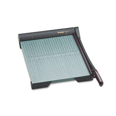 "Premier Martin Yale W15 The Original Green Paper Trimmer, 20 Sheets, Wood Base, 13"" X 17 1/2"""
