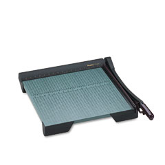 "Premier Martin Yale W18 The Original Green Paper Trimmer, 20 Sheets, Wood Base, 19 1/8"" X 21 1/8"""
