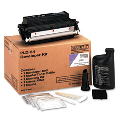 Printronix PRT704539007 L1024/L1524 Developer Kit: Developer Unit/Starter Tonr/Ozone Filtr/Cleaning Kt