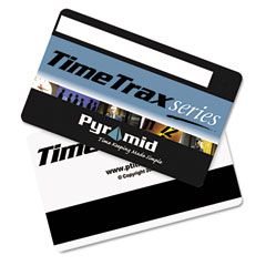 Pyramid 41304 Time Clock Badges For Software Based Time/Attendance Terminal, Numbered 51-100