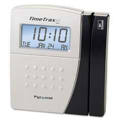 Pyramid technologies - time trax ez ethernet time and attendance system, 5 7/10 x 5 x 2, sold as 1 ea