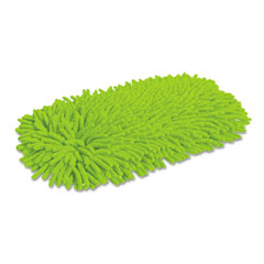 QCK 0604 Green Cleaning Soft & Swivel Dust Mop Refill, Microfiber/Chenille, Green, Each