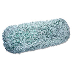 QCK QCK40764 Green And It`s Clean Dust Mop Refill,Microfiber, Blue, Each
