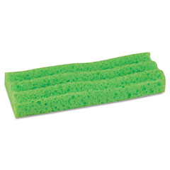 Quickie - sponge mop head refill, 9-inch, green, sold as 1 ea