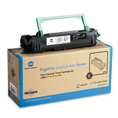 Konica 1710405002 1710405002 High-Yield Toner, 6000 Page-Yield, Black