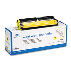 Konica 1710517006 1710517006 High-Yield Toner, 4500 Page-Yield, Yellow