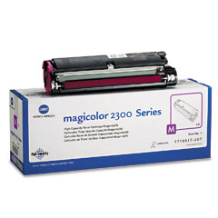 Konica 1710517007 1710517007 High-Yield Toner, 4500 Page-Yield, Magenta