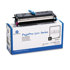 Konica 1710566001 1710566001 Toner, 3000 Page-Yield, Black