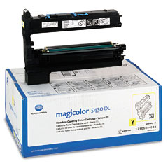 Konica 1710580002 1710580002 Toner, 6000 Page-Yield, Yellow