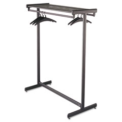 Quartet 20314 Double-Sided Garment Rack, Steel, Black Powder Coat