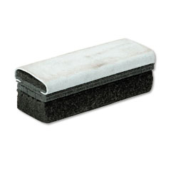Quartet - deluxe chalkboard eraser/cleaner, laminated felt, 6w x 2d x 1 5/8h, sold as 1 ea