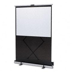 Quartet - euro portable cinema screen w/black carrying case, 64 x 48, sold as 1 ea