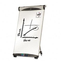Quartet - euro magnetic dry erase easel, 27 x 39, white, sold as 1 ea