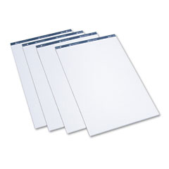 Quartet LP50 Conference Cabinet Flipchart Pad, Plain, 21 X 33-7/10, We, 50-Sheet, 4/Carton