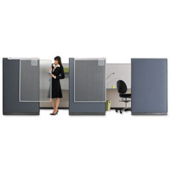 Quartet - workstation privacy screen, 36w x 48h, translucent clear, sold as 1 ea
