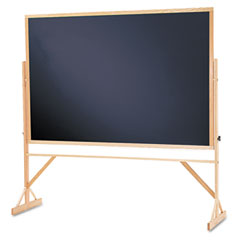 Quartet - reversible chalkboard w/hardwood frame, 48 x 72, sold as 1 ea