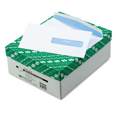 Quality Park 21432 Health Form Gummed Security Envelope, #10, White, 500/Box