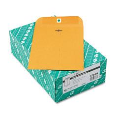Quality Park 37868 Clasp Envelope, 7 X 10, 28Lb, Light Brown, 100/Box