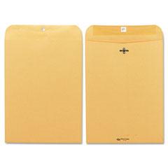 Quality Park 37890 Clasp Envelope, 9 X 12, 28Lb, Light Brown, 100/Box