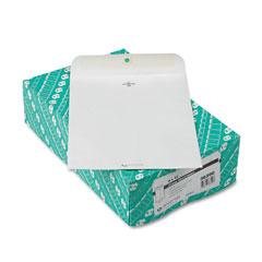 Quality Park 38390 Clasp Envelope, 9 X 12, 28Lb, White, 100/Box