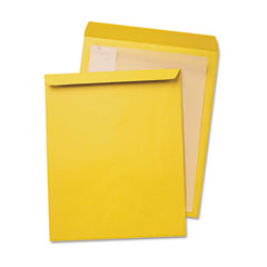 Quality Park 42353 Jumbo Size Kraft Envelope, 12 1/2 X 18 1/2, Light Brown, 25/Box