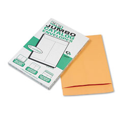 Quality Park 42354 Jumbo Size Kraft Envelope, 14 X 18, Light Brown, 25/Box