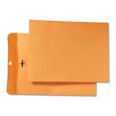 Quality Park 43090 Park Ridge Kraft Clasp Envelope, 9 X 12, Light Brown, 100/Box