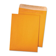Quality Park 43511 100% Recycled Brown Kraft Redi-Seal Envelope, 9 X 12, Light Brown, 100/Box