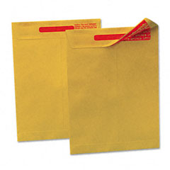 Quality Park 44420 Reveal-N-Seal Catalog Envelope, 10 X 13, Light Brown, 100/Box