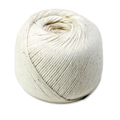 Quality Park 46171 White Cotton 10-Ply (Medium) String In Ball, 475 Feet