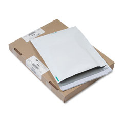Quality Park 46393 Redi-Strip Poly Expansion Mailer, Side Seam, 13 X 16 X 2, White, 100/Carton