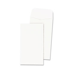 Quality Park 50265 Medication Envelope, 2 1/2 X 4 1/4, White, 250/Box